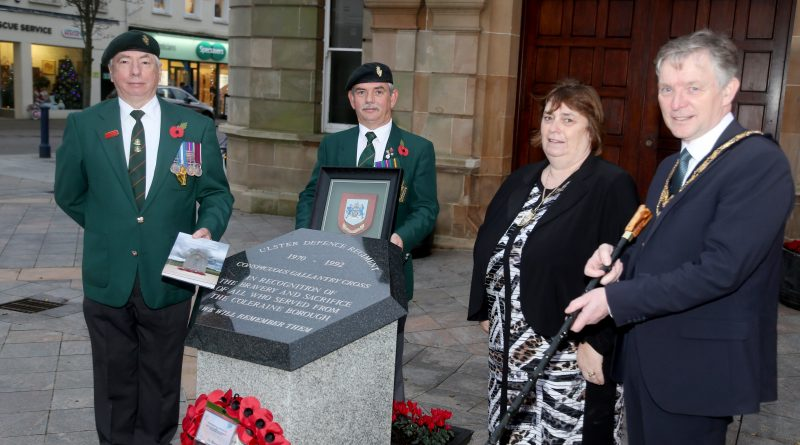 Presentation marks 50th anniversary of the formation of the Ulster Defence Regiment