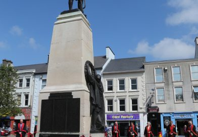 Armed Forces Day marked in Coleraine